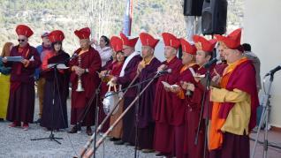 losar 5La comunidad budista de Panillo ha dado este lunes la bienvenida al año 2147 del calendario tibetano que llega bajo los auspicios del Ratón de Metal Masculino