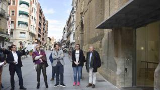 La Comarca de la Hoya se acaba de mudar al edificio de los antiguos Juzgados del Coso de Huesca tras invertir 1,2 millones de euros en una compleja rehabilitación.