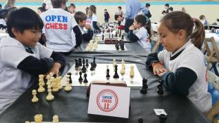 Torneo Escolar de ajedrez Open Chess en el colegio Monteraragón de Zaragoza