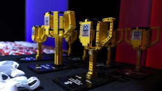 Las piezas lego son las protagonistas de este evento, que se celebra este sábado en Zaragoza.