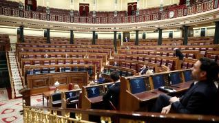 Pedro Sánchez explica en el Congreso el estado de alarma
