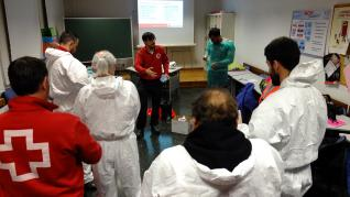La actividad de Cruz Roja Huesca se ha multiplicado por el coronavirus