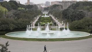 Ambiente por las calles de Zaragoza, Huesca y Teruel durante el estado de alerta por el coronavirus.