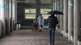Acceso a Urgencias del Hopistal Miguel Servet de Zaragoza en tiempos de coronavirus