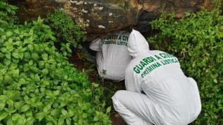 Hallan en una cueva el cadáver de la mujer desaparecida en Caspe.