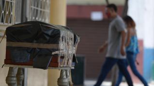 Cadáveres en las calles de Guayaquil