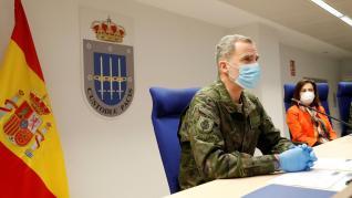 """El Rey expresa su """"apoyo, gratitud y orgullo"""" al Ejército por su colaboración"""
