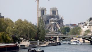 Un año del fatídico incencio en París.