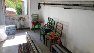 Comienzan las obras del nuevo albergue de peregrinos de Canfranc Pueblo.