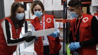 La Reina Letizia en Cruz Roja