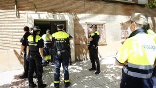 Explosión de gas en Compromiso de Caspe en Zaragoza