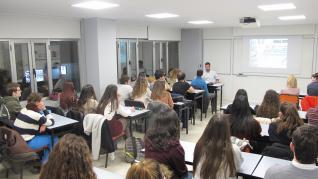Imagen de archivo de una de las clases en Centro de Estudios CID.