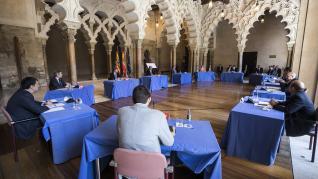 Aragón cierra 273 medidas para la recuperación social y económica