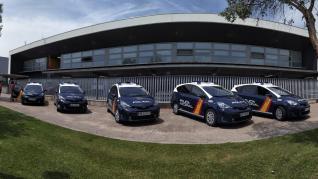 La Policía Nacional de Zaragoza suma 5 nuevos radiopatrullas inteligentes