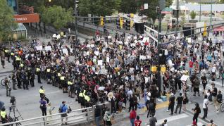 Georgia protest in wake of George Floyd death in Minneapolis