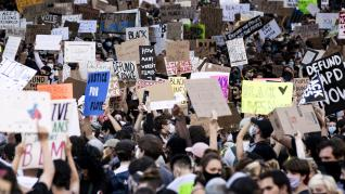 California protest in wake of George Floyd death in Minneapolis