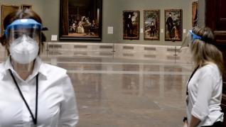 Reapertura del Museo del Prado.