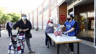 Recogida de alimentos en seis centros cívicos de Zaragoza