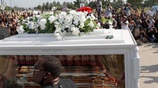 Funeral de Floyd en Houston (Texas).