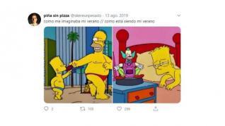 Memes dedicados al verano de 2020.