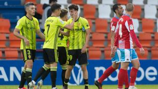 Fotos del partido Lugo-Real Zaragoza, de Segunda División, en el Anxo Carro