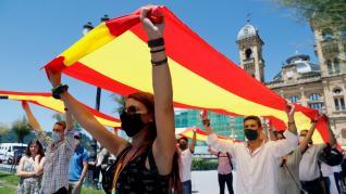 Acto electoral de Vox en San Sebastián