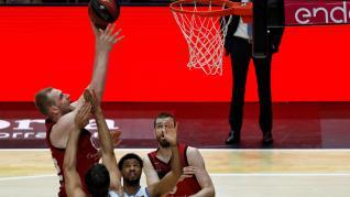 Casademont Zaragoza y Mora Banc Andorra disputan el tercer partido de la tercera jornada del Grupo B