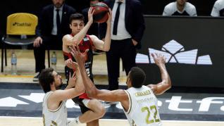 Real Madrid y Casademont Zaragoza disputan el tercer de la quinta jornada del Grupo B
