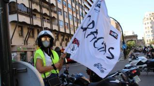 El grupo motero +GAS se ha entregado una metopa a la Guardia Civil