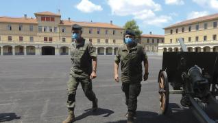 El cuartel general de la División Castillejos ya está operativo en Huesca.