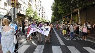 Concentración Delicias en señal de repulsa por brutal violación a una joven discapacitada
