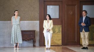 La reina Letizia, fan de las cuñas de esparto
