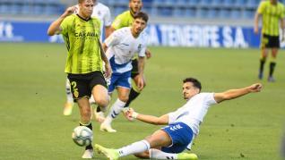 Partido Tenerife-Real Zaragoza, en el Heliodoro Rodríguez López