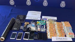 La Policía Nacional desarticula varios clanes  que suministraban sustancias estupefacientes en Delicias y Las Fuentes