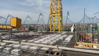 Las obras de Torre Zaragoza están muy avanzadas.