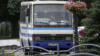 Autobús secuestrado en Ucrania
