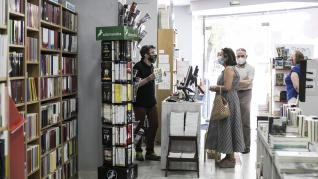 Celebración del Día del Libro, Librería Central de Zaragoza