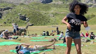 Los conciertos en la naturaleza del festival Sonna de Huesca arrancan con buen ambiente y sol