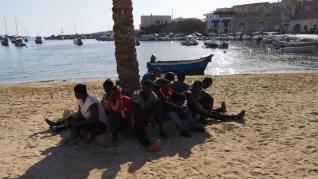 Crisis migratoria en Lampedusa