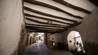 Foto de Fórnoles, municipio de la Comarca del Matarraña
