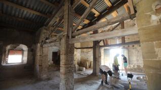 Excavaciones arqueológicas en el entorno de la catedral.