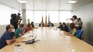 Reunión de coordinación entre instituciones