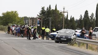 Muere ahogado un joven de 22 años en la Peña del Cuervo (Peñaflor).