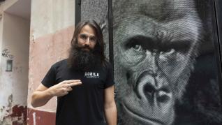 Daniel Acirón, dueño del nuevo bar Gorila.