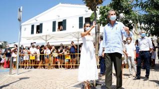 Los Reyes de visita en Menorca