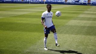 Presentación oficial de Jair Amador y Haris Vuckic como jugadores del Real Zaragoza.