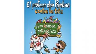 Algunas páginas del cómic de don Pardino.