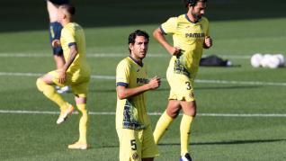 Imágenes del partido Villarreal-Huesca