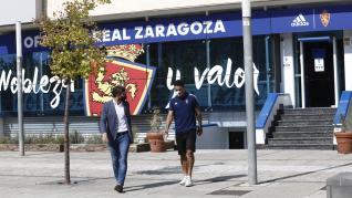 Presentación de Toro Fernández, fichaje del Real Zaragoza