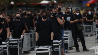 Alerta Roja: Los gremios del espectáculo lanza un SOS silencioso en Zaragoza